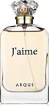 Духи, Парфюмерия, косметика Arqus J'aime - Парфюмированная вода (тестер с крышечкой)