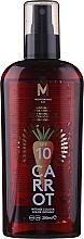 Духи, Парфюмерия, косметика Масло для загара - Mediterraneo Sun Carrot Suntan Oil Dark Tanning SPF 10