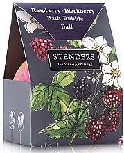 "Духи, Парфюмерия, косметика Бурлящий шар для ванны ""Малиново-ежевичный"" в упаковке - Stenders Raspberry-Blackberry Bath Bubble Ball In A Costom-Designed Box"