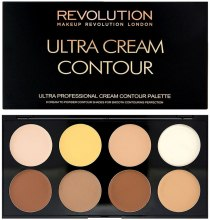 Парфумерія, косметика Makeup Revolution Ultra Cream Contour Palette - Палетка для контурингу кремова