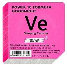Духи, Парфюмерия, косметика Ночная маска-капсула питательная - It's Skin Power 10 Formula Goodnight Sleeping Capsule VE