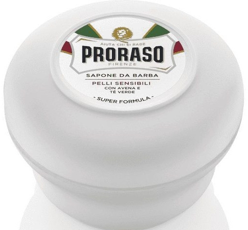 Мыло для бритья для чувствительной кожи - Proraso White Line Soap Super Formula