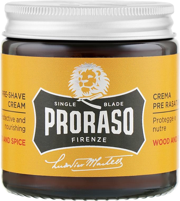Крем перед бритьем - Proraso Wood and Spice Pre-Shaving Cream