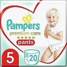 Духи, Парфюмерия, косметика Подгузники-трусики Premium Care Pants Junior 5 (12-18 кг), 20 шт - Pampers
