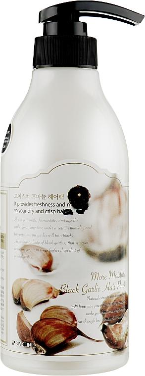 Маска для волос с экстрактом чёрного чеснока - 3W Clinic More Moisture Black Garlic Hair Pack