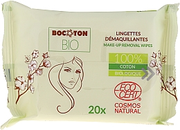 Духи, Парфюмерия, косметика Органические влажные салфетки для снятия макияжа - Bocoton Bio Hydra