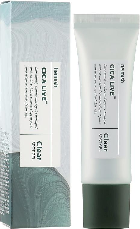Точечный гель для проблемной кожи - Heimish Cica Live Clear Spot Gel