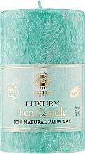 Духи, Парфюмерия, косметика Свеча из пальмового воска, 11.5 см, зелёная - Saules Fabrika Eco Candle