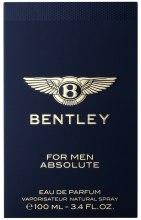 Духи, Парфюмерия, косметика Bentley For Men Absolute - Парфюмированная вода (тестер без крышечки)