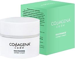 Духи, Парфюмерия, косметика Корректирующий крем против пигментных пятен и недостатков кожи - Collagena Code Niacinamide Correct Cream