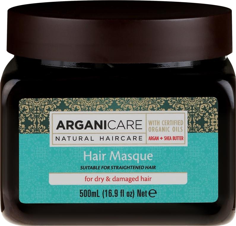Маска для сухих и поврежденных волос - Arganicare Argan Oil Hair Masque for Dry Damaged Hair