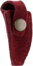 Парфумерія, косметика Чохол для кусачок, на кнопці, маленький, бордовий (ЧМ-03) - Staleks
