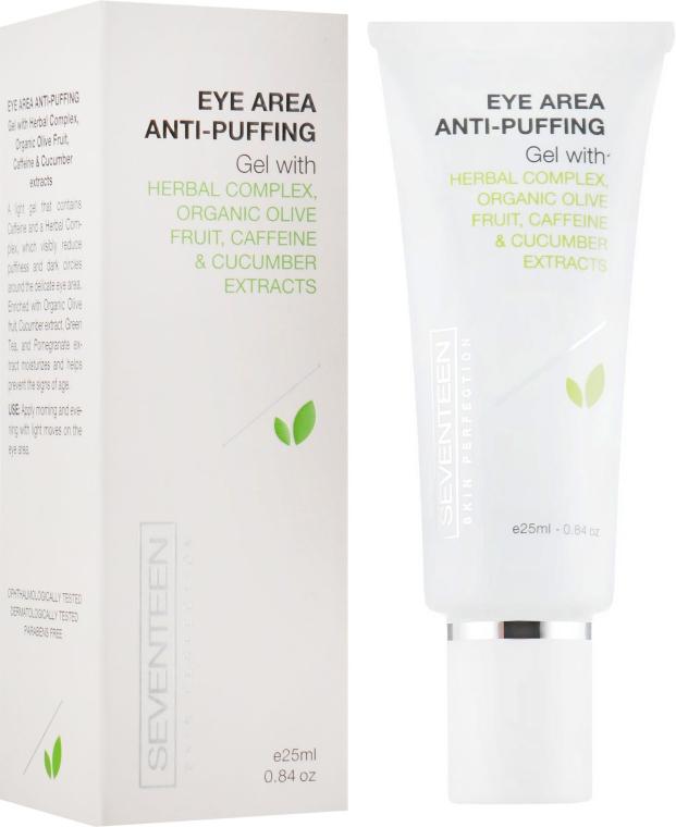 Гель против мешков под глазами - Seventeen Skin Perfection Eye Area Anti-puffing Gel