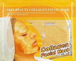 """Духи, Парфюмерия, косметика Маска для лица с коллагеном """"Золотая"""" - Beauty Line Gold Bio-Collagen Facial Mask"""