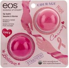 Духи, Парфюмерия, косметика Набор бальзамов - EOS Limited Edition Breast Cancer Awareness Collection Lip Balm 2-Pack (2 x balm/7g)