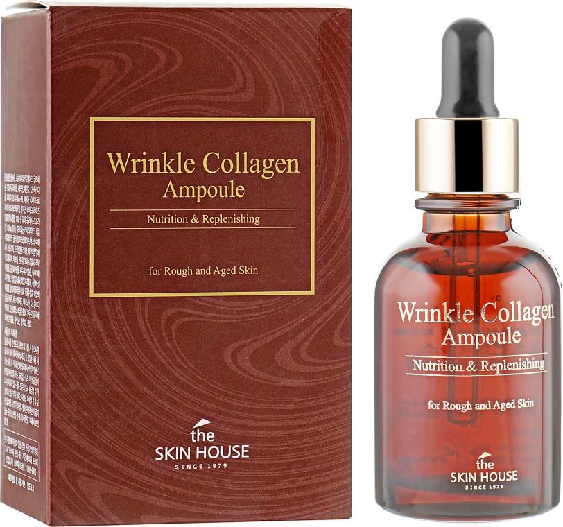 Антивозрастная ампульная сыворотка с коллагеном - The Skin House Wrinkle Collagen Feeltox Ampoule