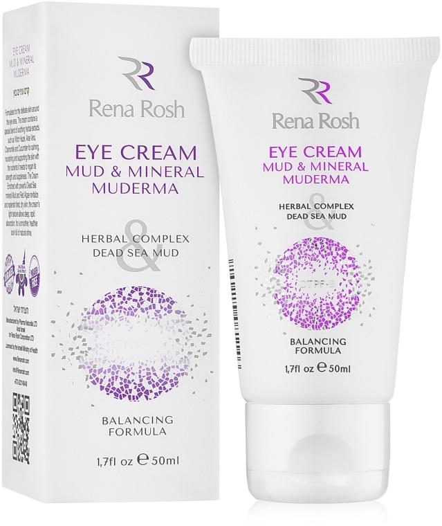 Грязевой крем вокруг глаз - Rena Rosh Mud & Mineral Eye Cream