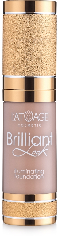 Тональный крем - Latuage Cosmetic Brilliant Look