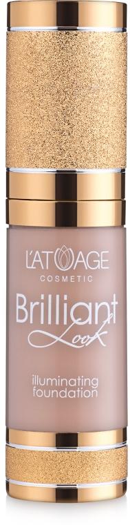 Тональный крем - Latuage Cosmetic Brilliant Look