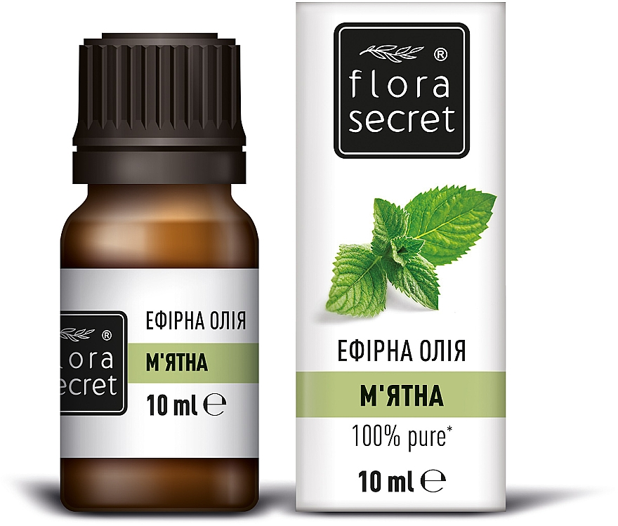 Эфирное масло мяты перечной - Flora Secret