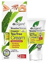 """Духи, Парфюмерия, косметика Успокаивающий крем для тела """"Чайное дерево"""" - Dr. Organic Bioactive Skincare Tea Tree Cream"""