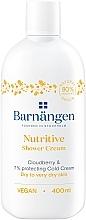 Духи, Парфюмерия, косметика Крем-гель для душа с морошкой для сухой и очень сухой кожи - Barnangen Nordic Care Nutritive Shower Cream