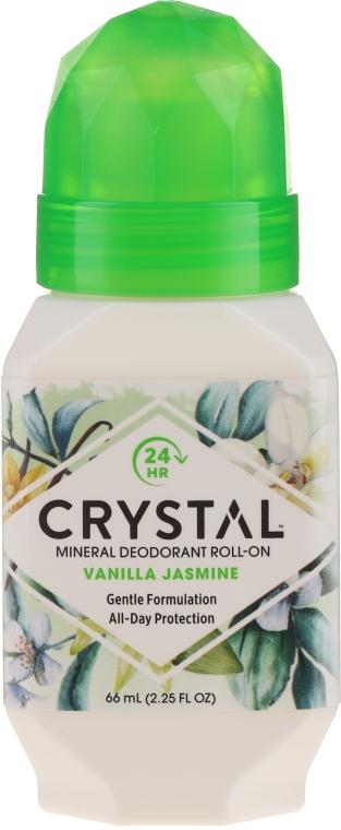 Роликовый дезодорант с ароматом Ванили и Жасмина - Crystal Essence Deodorant Roll-On Vanila Jasmine