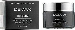 Духи, Парфюмерия, косметика Питательный лифтинг-крем - Demax Night Lifting Cream Peptide Concept