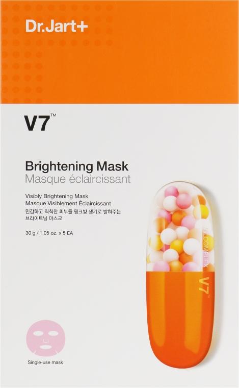 Осветляющая маска для лица с витаминным комплексом - Dr. Jart+ V7 Brightening Mask