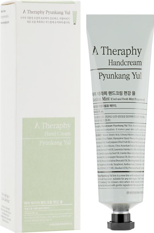 Питательный крем для рук - Pyunkang Yul A Therapy Handcream Garden Mint — фото N1