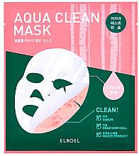 Духи, Парфюмерия, косметика Биоцеллюлозная маска - Elroel Aqua Clean Mask