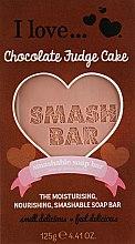 Духи, Парфюмерия, косметика Мыло - I Love... Chocolate Fudge Cake Smash Soap Bar Bath and Body Treats
