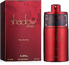 Духи, Парфюмерия, косметика Ajmal Shadow Amor Pour Homme - Парфюмированная вода