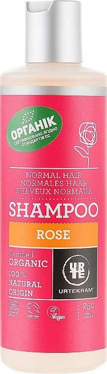 "Шампунь ""Роза"" для нормальных волос - Urtekram Rose Shampoo Normal Hair"