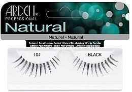 Духи, Парфюмерия, косметика Накладные ресницы - Ardell Natural Lashes Black 104