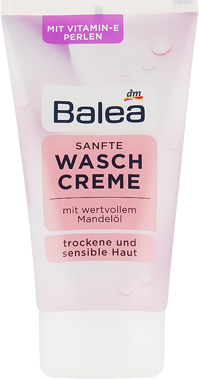 Крем для умывания c миндальным маслом - Balea Sanfte Waschcreme