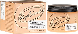 Духи, Парфюмерия, косметика Увлажняющее средство для лица с аргановой пудрой - UpCircle Face Moisturiser With Argan Powder