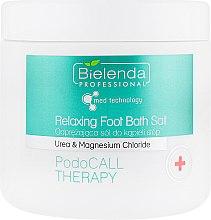 Парфумерія, косметика Сіль для шкіри ніг - Bielenda Professional PodoCall Therapy Relaxing Foot Bath Salt