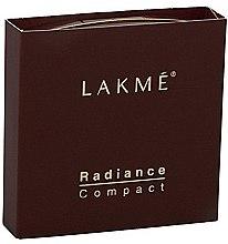 Духи, Парфюмерия, косметика Компактная пудра для кожи лица - Lakme India Radiance Compact Natural