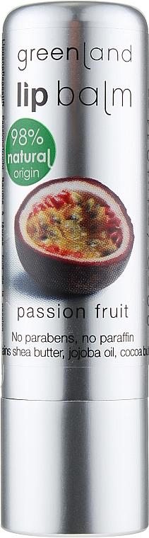 """Бальзам для губ """"Маракуйя"""" - Greenland Lip Balm Passionfruit"""