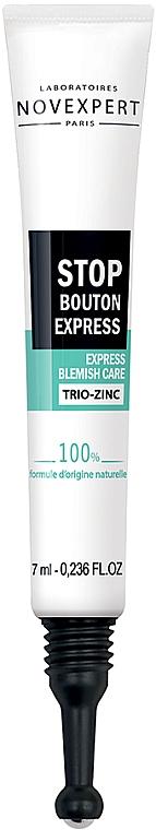 Средство против воспалений с цинком - Novexpert Trio-Zinc Express Blemish Care