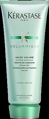 Уплотняющий желе-уход для тонких волос - Kerastase Resistance Volumifique Thickening Effect Gel Treatment