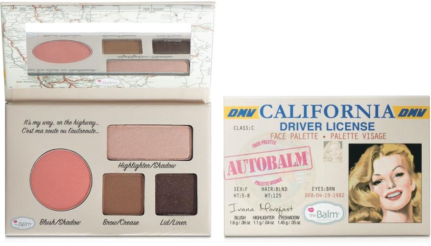 Палетка для макияжа - theBalm Mini Palettes AutoBalm
