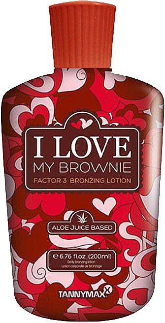 Крем-активатор загара с 3-кратным бронзатором - Tannymaxx I Love My Brownie Factor 3 Bronzing Lotion