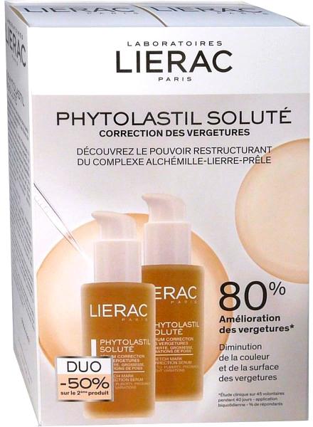 Набор - Lierac Phytolastil Solute (serum/75ml + serum/75ml)