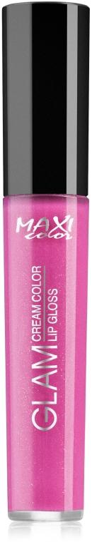 Блеск для губ - Maxi Color Glam Cream Lipgloss