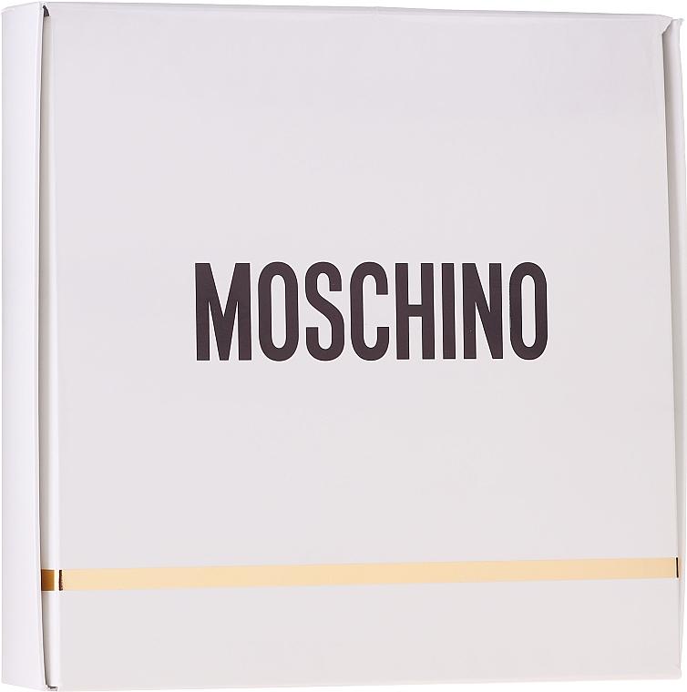 Moschino Fresh Couture - Набор (edt mini 5ml + b/l 25ml + s/g 25ml)