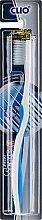 Духи, Парфюмерия, косметика Зубная щетка с антибактериальной щетиной, бело-синяя - Clio Sens-R