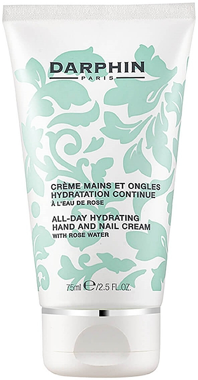 "Крем для рук и ногтей ""Увлажняющий"" - Darphin All-Day Hydrating Hand & Nail Cream With Rose Water"