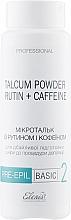 Духи, Парфюмерия, косметика Микротальк с рутином и кофеином для тела - Elenis Pre-Epil Talcum Powder Rutin + Caffeine